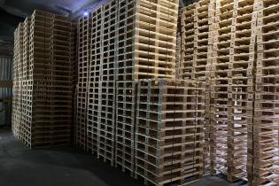 Поддоны: склад готовой продукции-2