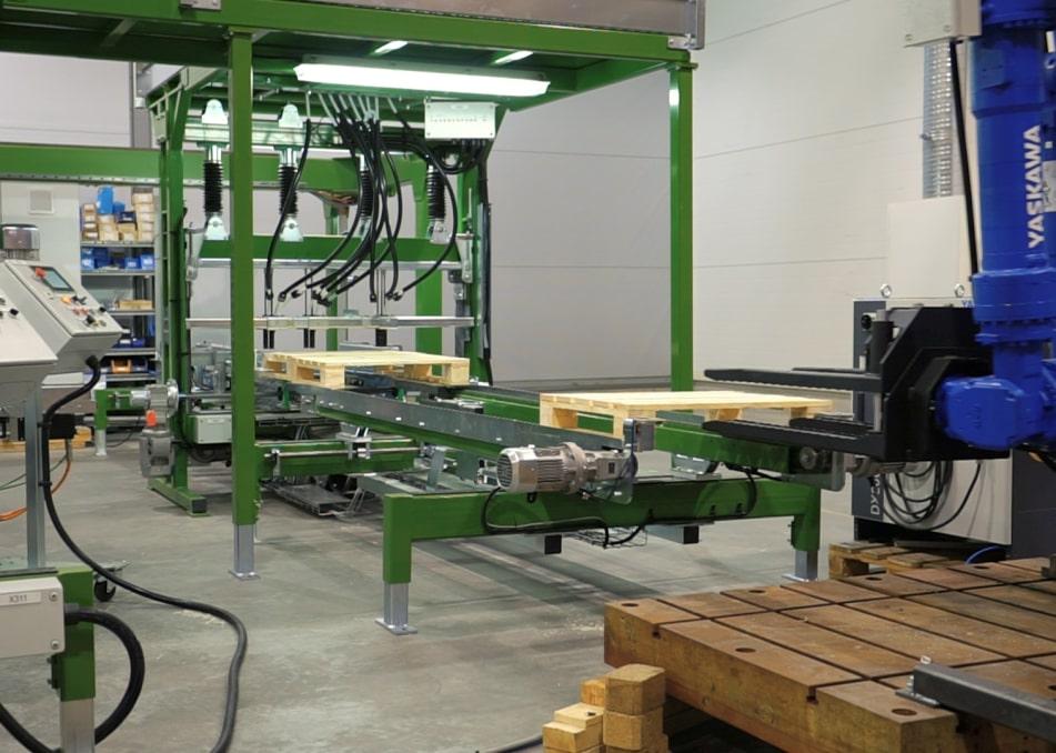Производство паллет в компании Энергия-2