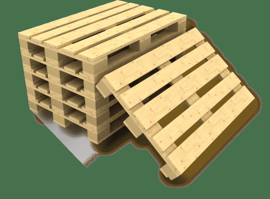 Новые деревянные поддоны, паллеты