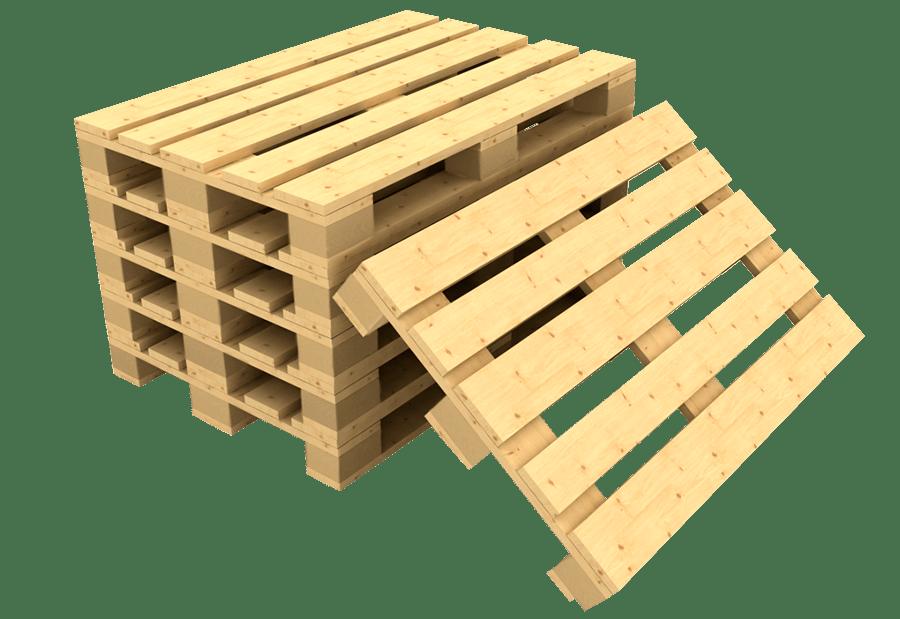 Новые деревянные паллеты