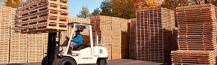 Виды деревянных поддонов