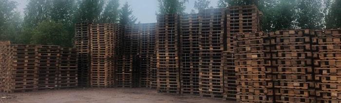 Бывшие в употреблении деревянные поддоны: использовать или нет?