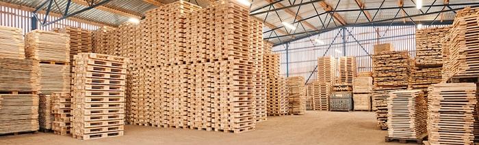 Хранение деревянных поддонов: продлеваем срок службы